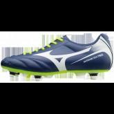 Chaussures Foot Mizuno Monarcida Neo Mix Blanc / Bleu / Jaune Homme