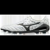Chaussures Foot Mizuno Morelia Neo II Md Blanc / Noir Homme