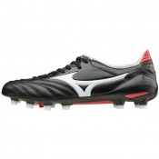Chaussures Foot Mizuno Morelia Neo II Md Blanc / Noir / Rouge Homme