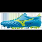 Chaussures Foot Mizuno Morelia Neo KL AG Bleu / Jaune Homme