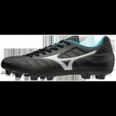 Chaussures Foot Mizuno Rebula V3 Blanc / Bleu / Noir Homme