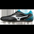 Chaussures Foot Mizuno Waitangi CL Blanc / Bleu / Noir Homme