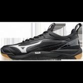 Chaussures Handball Mizuno Wave Mirage 2 Blanc / Noir Homme