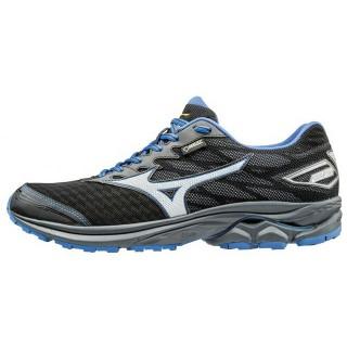 Chaussures Running Mizuno WAVE RIDER 20 G-TX ⋅ Noir & Bleu Homme