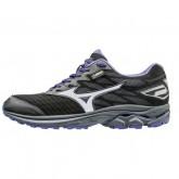 Chaussures Running Mizuno WAVE RIDER 20 G-TX ⋅ Noir & Violet Femme