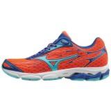 Chaussures Running Mizuno Wave Catalyst Bleu / Orange Femme