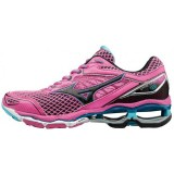 Chaussures Running Mizuno Wave Creation 18 Noir / Rose Femme