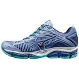 Chaussures Running Mizuno Wave Enigma 6 Blanc / Bleu Femme