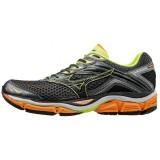 Chaussures Running Mizuno Wave Enigma 6 Gris / Noir / Orange Homme