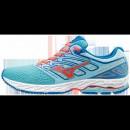 Chaussures Running Mizuno Wave Shadow Blanc / Bleu / Rose Femme