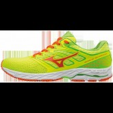 Chaussures Running Mizuno Wave Shadow Jaune / Orange / Vert  Homme