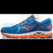 Chaussures Running Mizuno Wave Sky Bleu / Orange Homme
