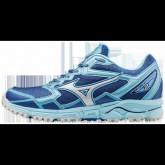 Chaussures Trail Mizuno Wave Daichi 2 Blanc / Bleu Femme