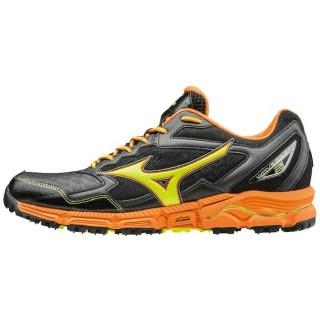 Chaussures Trail Mizuno Wave Daichi 2 Jaune / Noir / Orange Homme