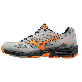 Chaussures Trail Mizuno Wave Kien 3 Gris / Noir / Orange Homme