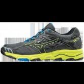 Chaussures Trail Mizuno Wave Mujin 4 G-TX Gris / Jaune / Noir Homme