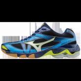 Chaussures Volley Mizuno Wave Bolt 6 Blanc / Bleu / Jaune / Noir Homme