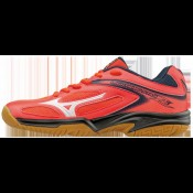 Chaussures Volley Mizuno Wave Lightning Star Z3 JNR Blanc / Bleu / Rouge Femme