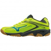 Chaussures Volley Mizuno Wave Lightning Star Z3 JNR Bleu / Jaune Femme