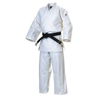 Judo Judogis Mizuno YUSHO JAPAN 2014 Blanc