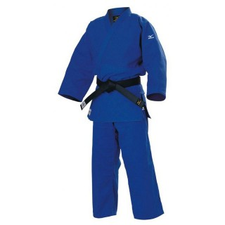 Judo Judogis Mizuno YUSHO JAPAN 2014 Bleu