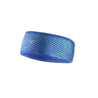 Mizuno Bandeau WarmaLite Bleu / Vert  Sports Volley Femme