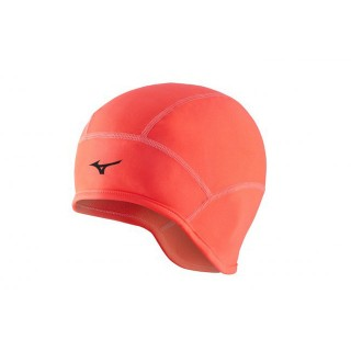 Mizuno Bonnet WarmaLite Orange Homme