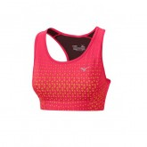 Mizuno Brassière Phenix Support Orange / Rose Running Femme