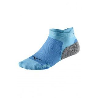 Mizuno Chaussettes DryLite Race Low  Bleu / Gris Running Femme