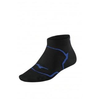 Mizuno Chaussettes Drylite Inner Grip Mid Bleu / Noir Running Femme