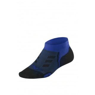 Mizuno Chaussettes Drylite Race Low Bleu / Noir Running Femme