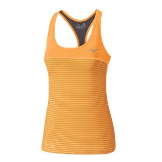 Mizuno Débardeur Ranma Support Orange Tennis Vêtements Femme