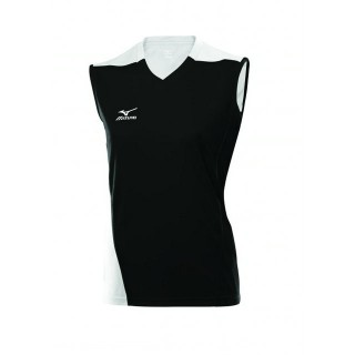 Mizuno Maillot de Volley TRAD Femme 361  Blanc / Noir Volley Femme