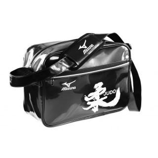 Mizuno Sac vintage small Kanji Blanc / Noir Judo