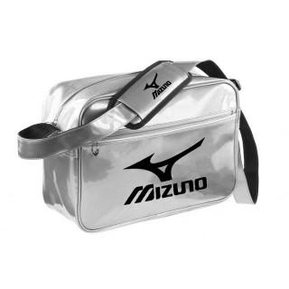 Mizuno Sac vintage small Logo Gris / Noir Judo