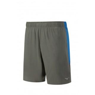 Mizuno Short Alpha 8.5 Bleu / Gris Running  Homme