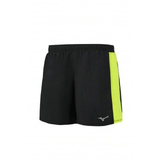 Mizuno Short Impulse Core 5.5 Jaune / Noir Running  Homme