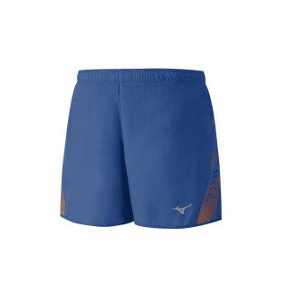 Mizuno Short Premium Aero Bleu / Orange Running  Homme