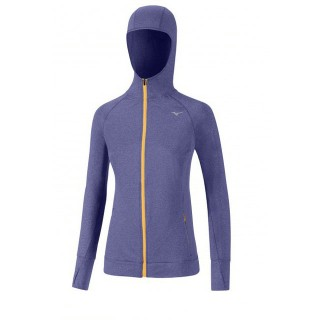 Mizuno Sweat Active Violet Running/Training Femme