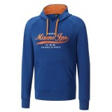 Mizuno Sweat Heritage Bleu Outdoor Homme