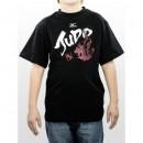 Mizuno T-Shirt judo Enfant Blanc / Noir / Rouge Judo Vêtements Junior