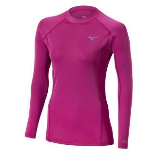 Mizuno T shirt Biogear  Violet Running Femme