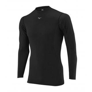 Mizuno T-shirt  Breath thermo  col rond Noir Outdoor