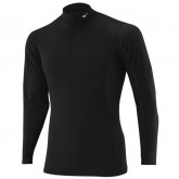 Mizuno T-shirt  Breath thermo col zippé Noir Outdoor