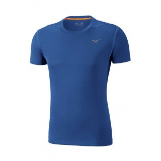 Mizuno T-shirt Core Bleu Running/Training Homme