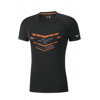 Mizuno T-shirt Core Graphic Noir Running/Training Homme