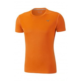 Mizuno T-shirt Core Orange Running/Training Homme