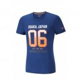 Mizuno T-shirt Heritage 06 Bleu Running/Training Homme