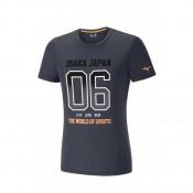 Mizuno T-shirt Heritage 06 Gris Running/Training Homme