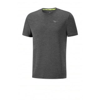Mizuno T-shirt Impulse Core Gris Running  Homme